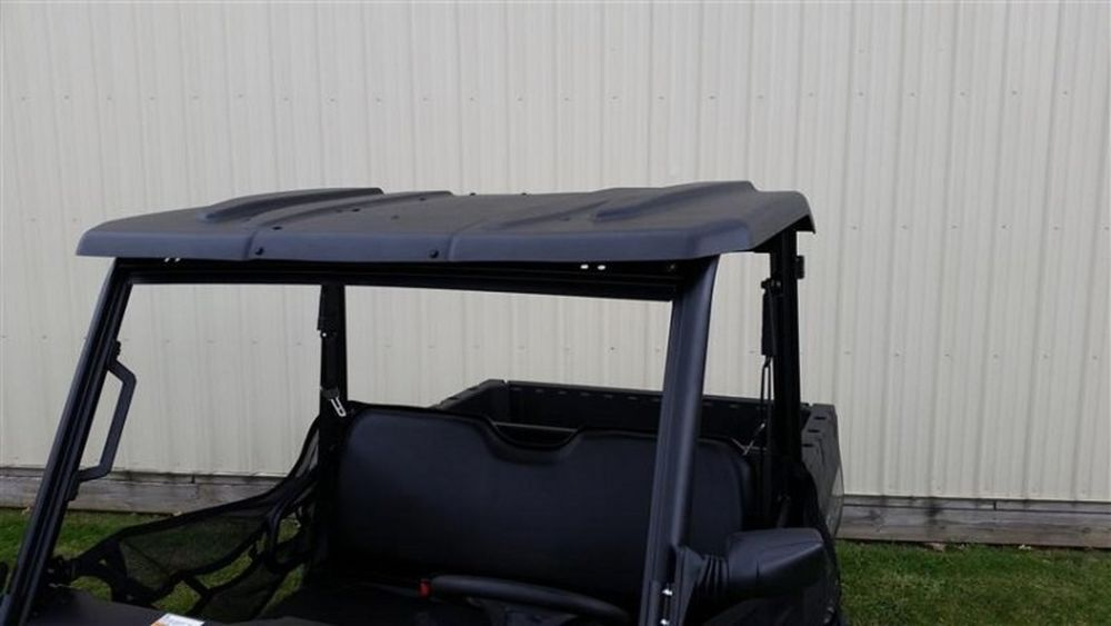 Polaris Ranger 570 Midsize 2015 Black Polyethylene Hard Top Roof 11894 Extrememetalproducts Polaris Ranger Ranger Metal Products