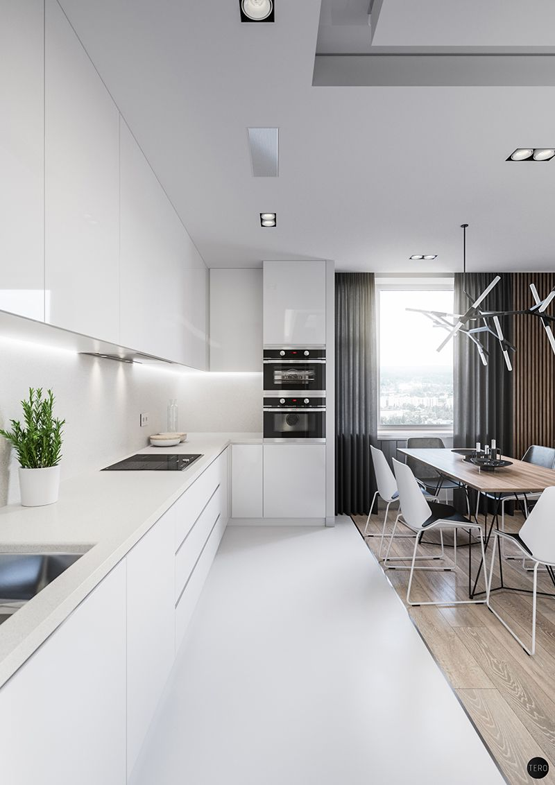 Residential Complex ART on Behance Kitchen in