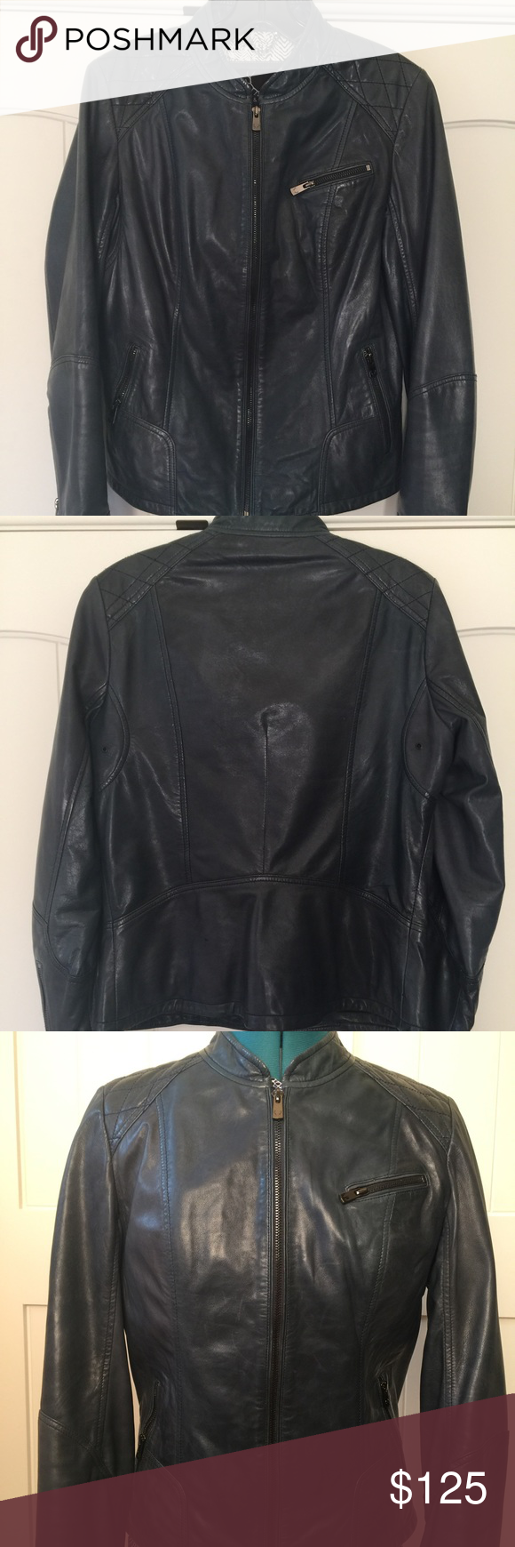 Leather jacket very