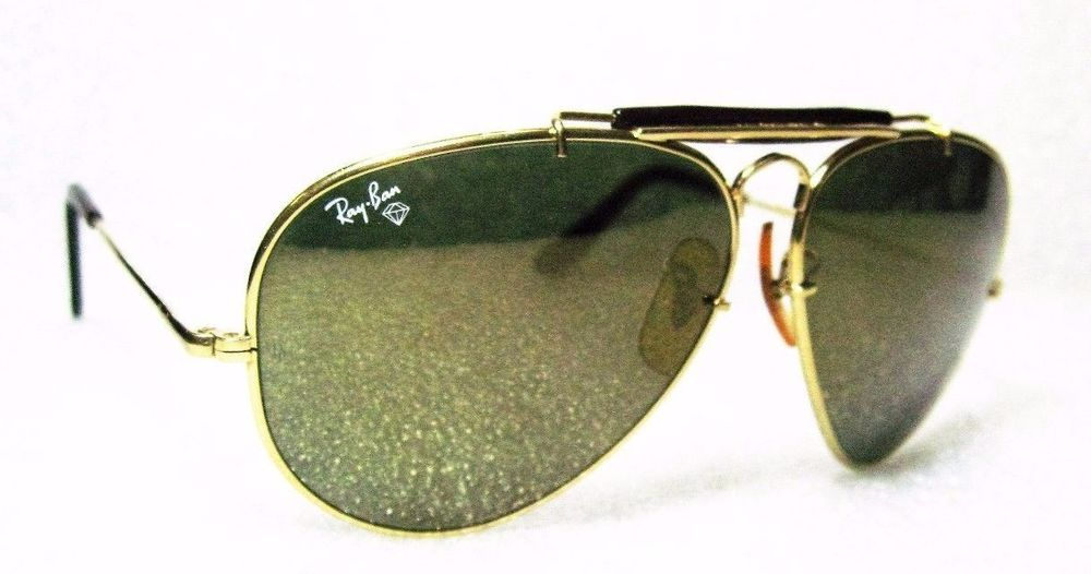 0ebd86ba2 RAY-BAN MINT VINTAGE B&L AVIATOR *Diamond Hard W1508 TORTUGA *GENERAL  SUNGLASSES #RayBanbyBauschLomb #AviatorGeneralSurvivorCollectionW1508