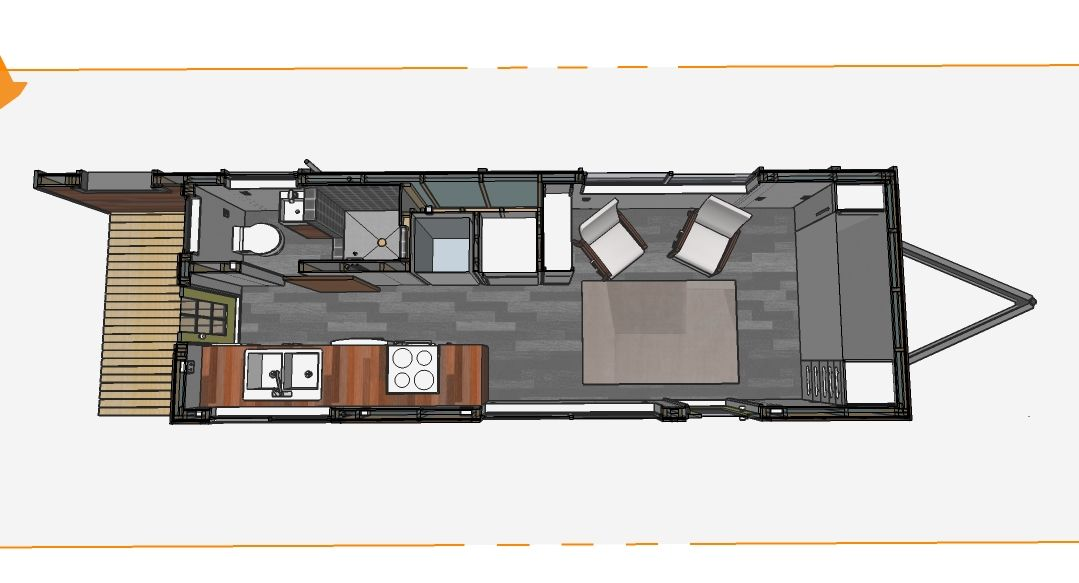 Tiny House On A Trailer Plans Escortsea,House.Home Plans Ideas Picture