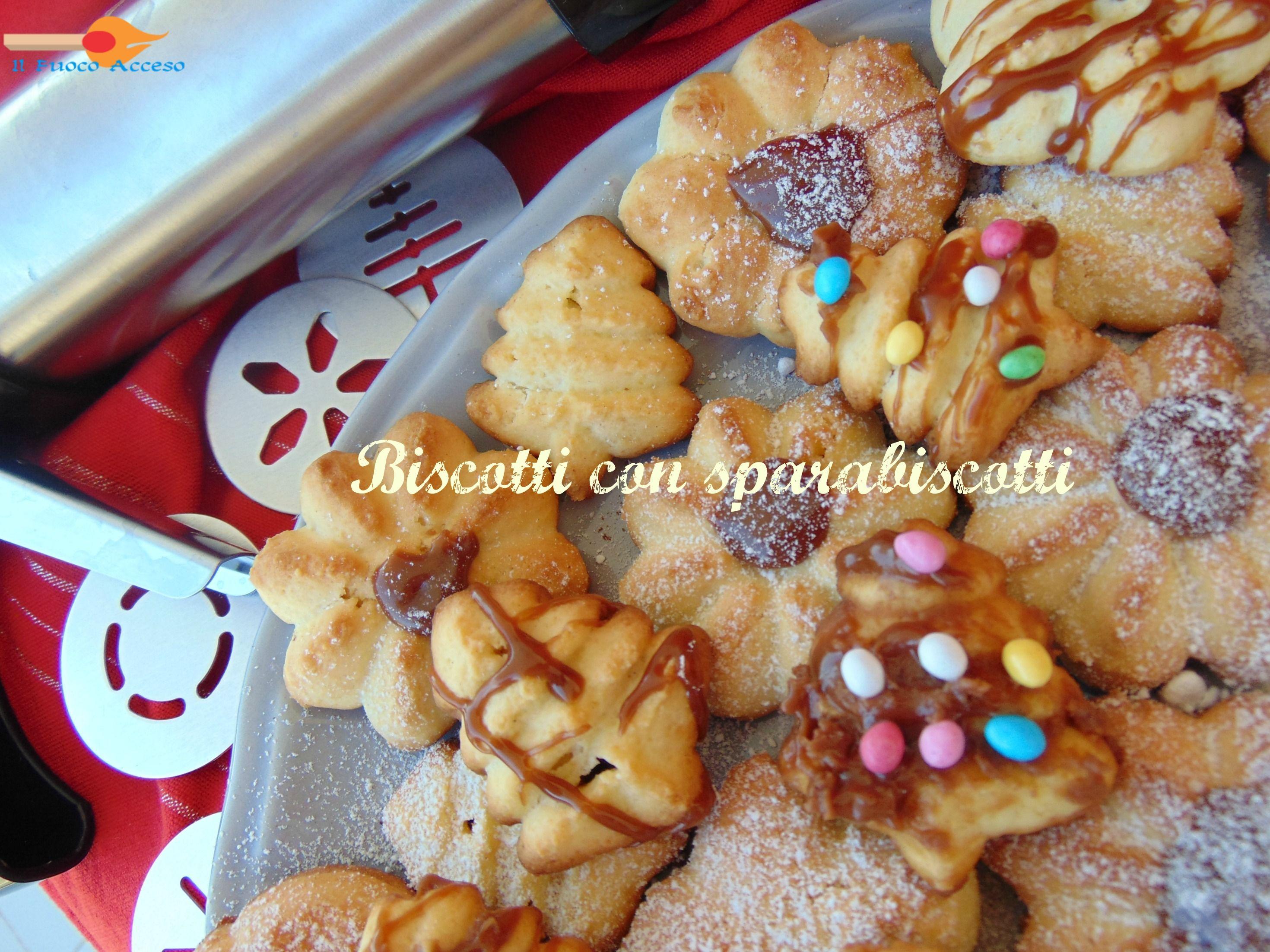 Vengono molto bene i biscotti con sparabiscotti, e si preparano in un attimo!