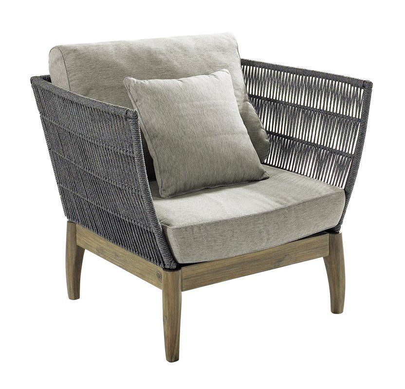 Explorer Wings Patio Chair With Cushions Lounge Chair Outdoor