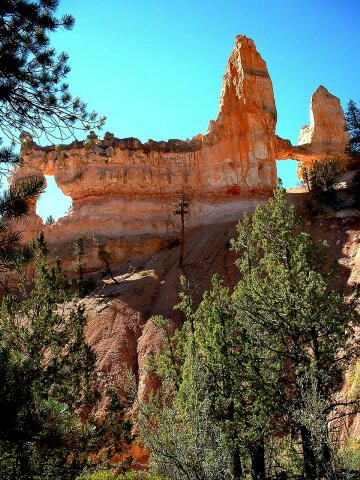 Tower Bridge In Bryce Canyon National Park Southern Utah Bryce Canyon National Park National Parks Bryce Canyon