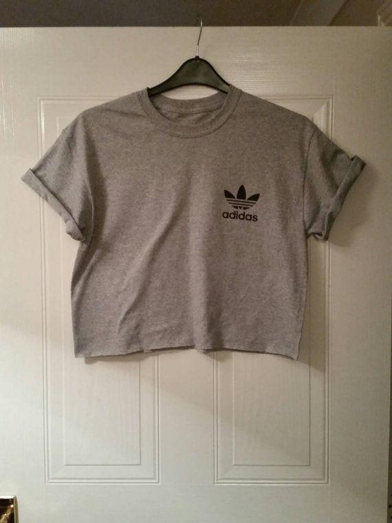 f0e8833e735 Unisex customised adidas acid wash tie dye cropped t shirt festival ...