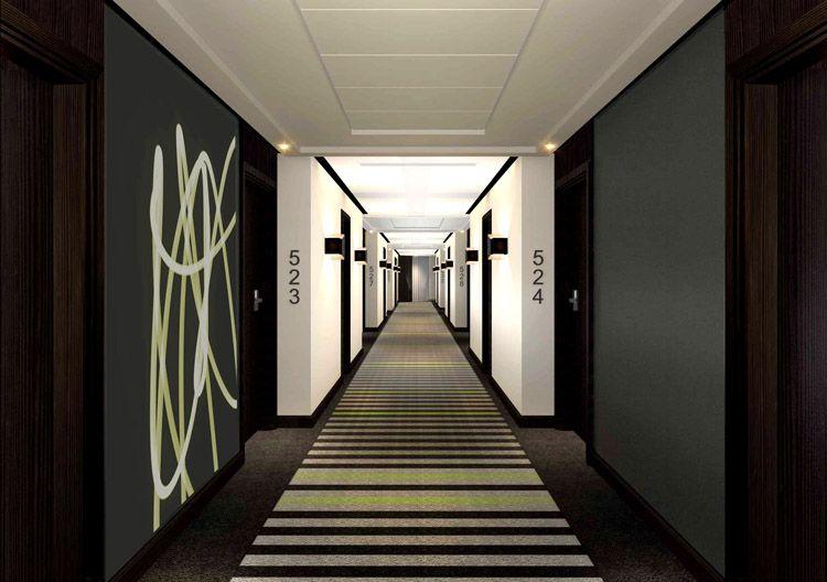 Traditional guestroom corridor google search corridor for Hotel corridor decor