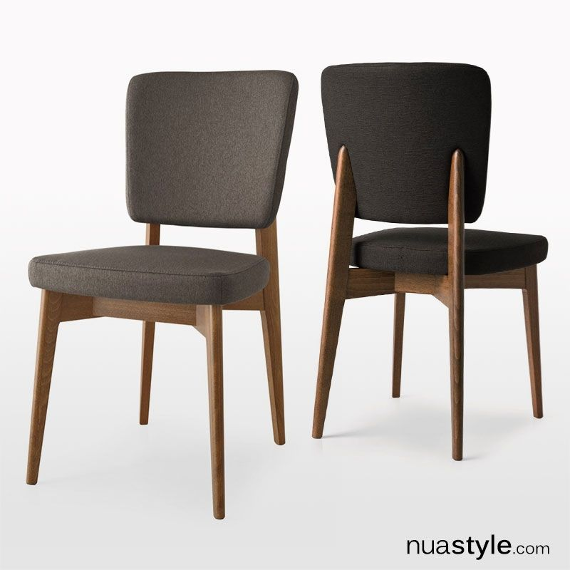 The Connubia Calligaris Escudo Chair in faux leather has a mid ...