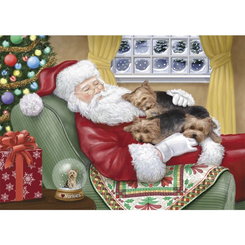 Dog Lover Gifts | Yorkie Christmas & Holiday Cards - The Danbury ...