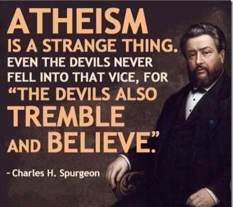 Atheism is a strange thing quote - Courageous Christian Father
