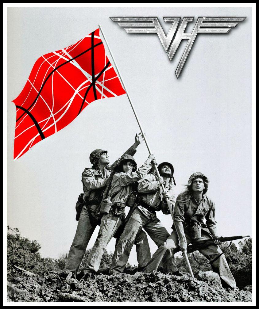 Van Halen Van Halen Van Halen Album Covers Eddie Van Halen