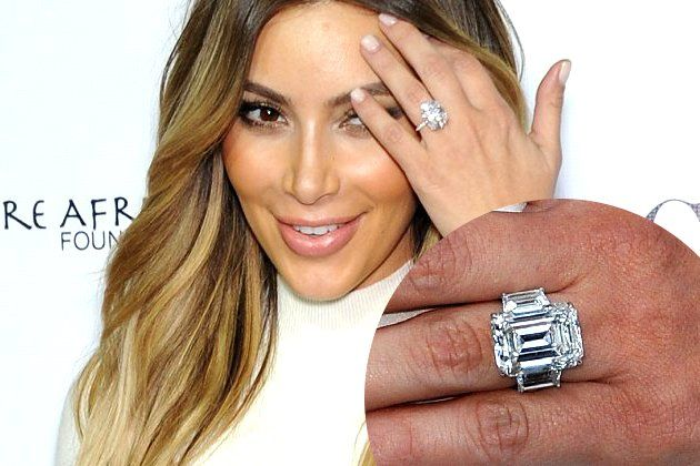 Kim Kardashian Wedding Ring Kanye West