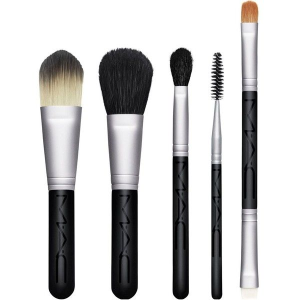 Mac Look In A Box Basic Brush Kit 60 Liked On Polyvore