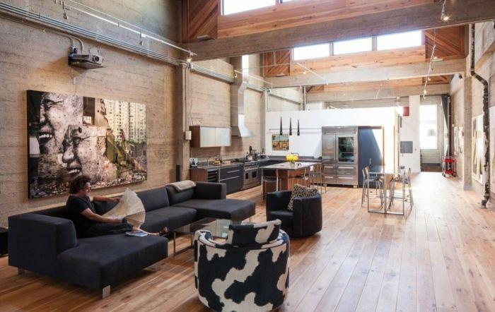 Bildergebnis für urban style wohnzimmer | Loft | Pinterest | Lofts