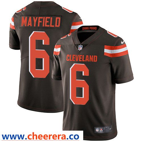 Nice Nike Cleveland Browns #6 Baker Mayfield Brown Team Color Men's  supplier