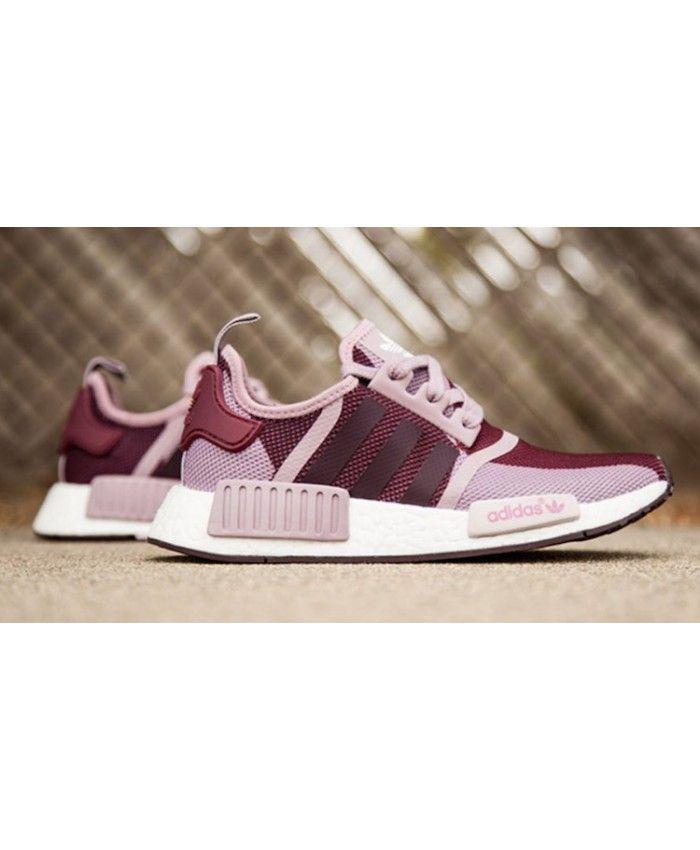 Adidas NMD Blanch Purple Purple Buy adidas NMD r1 pink
