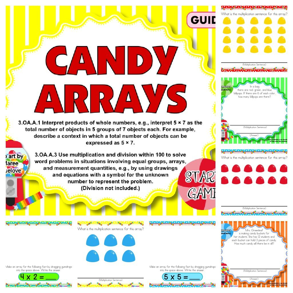Have fun with all sorts of virtual candy while making have fun with all sorts of virtual candy while making multiplication arrays and multiplication sentences buycottarizona Images