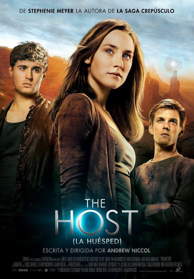 El libro me encantó... a ver qué tal la película... #TheHost #LaHuesped