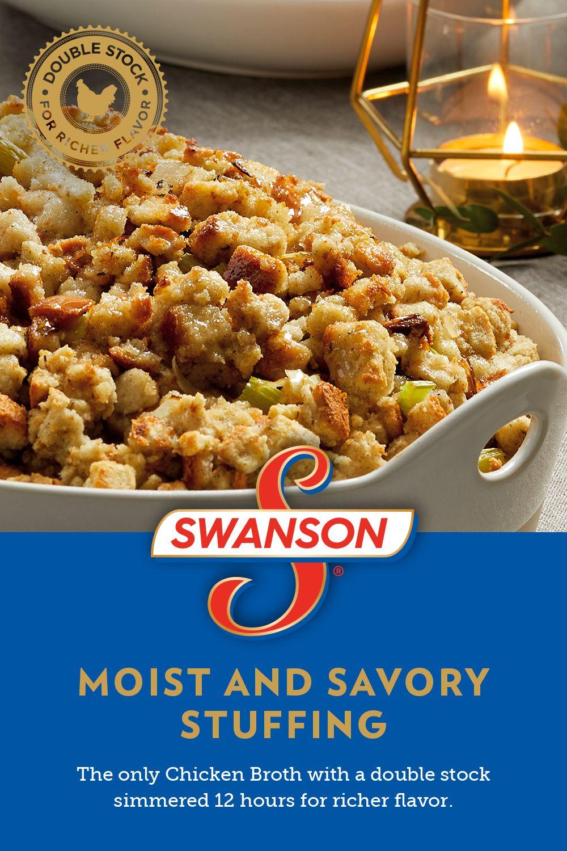 Moist and Savory Stuffing