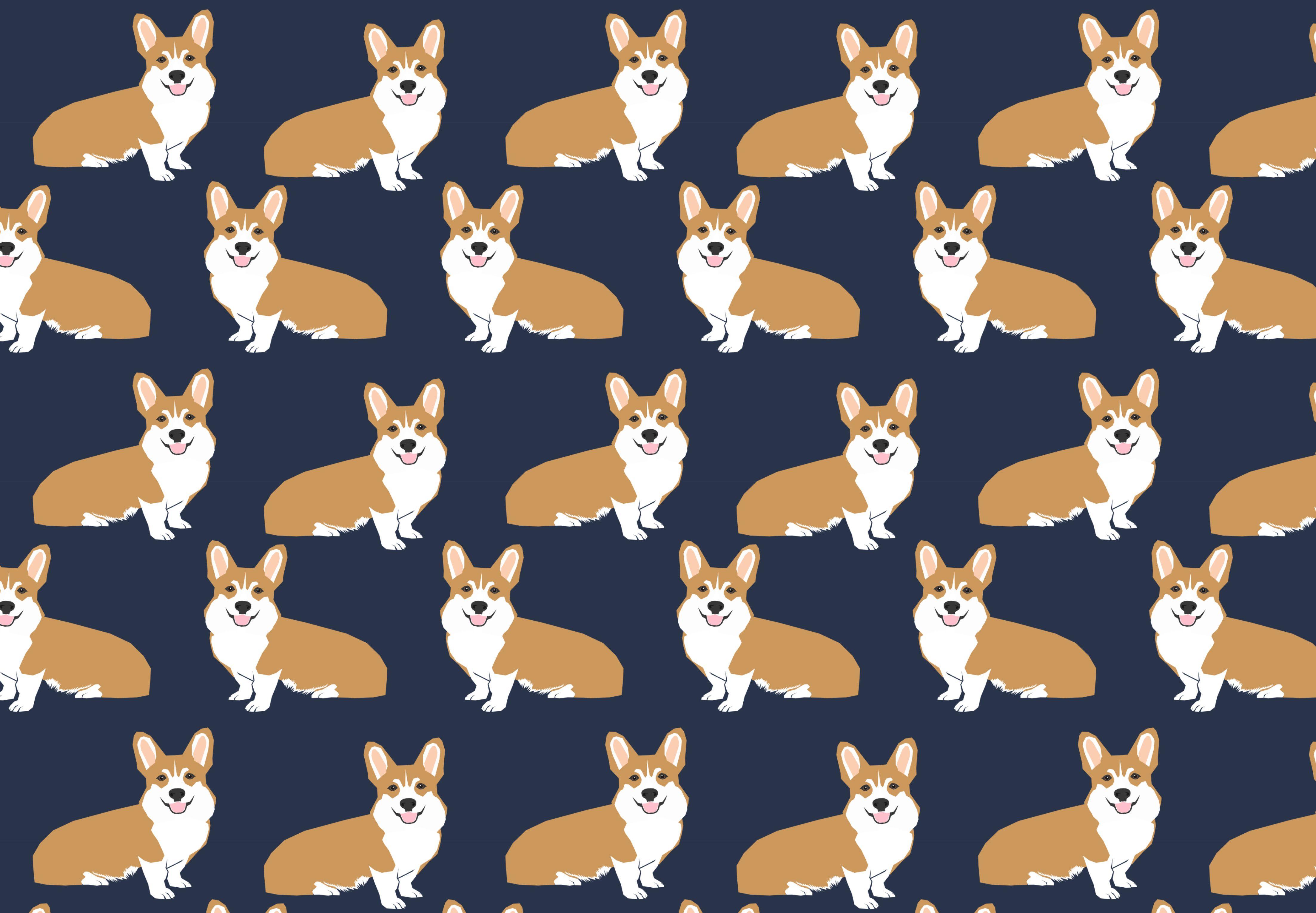 2b7e51875f2b #Casetify #iPhone #Art #Design #Animals #Illustration #ideas #wallpaper # cute #corgi