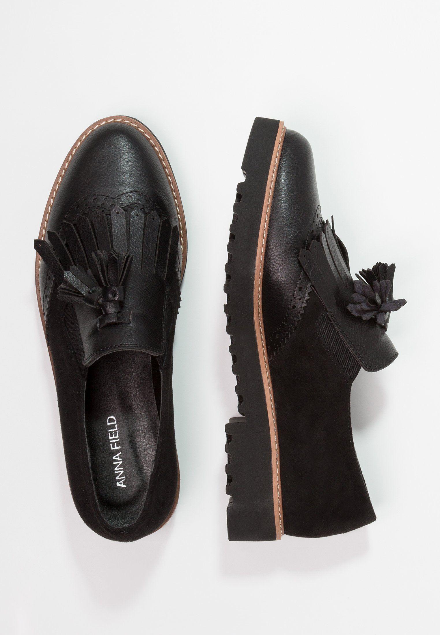 efdb99748dd9a Mocassins - black en 2018   Derby   Pinterest   Shoes, Black et Derby