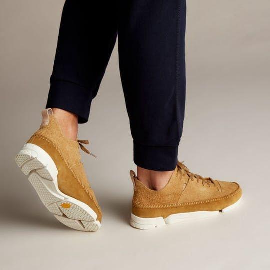 c8af41171 Trigenic Flex - Mens Originals Shoes - Oak Suede by Clarks in 2019 ...