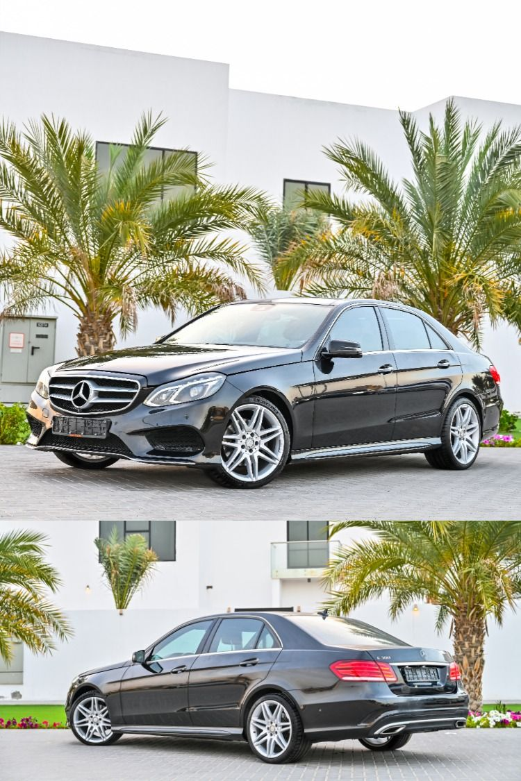 Own your preowned Mercedes E300 in Dubai with a