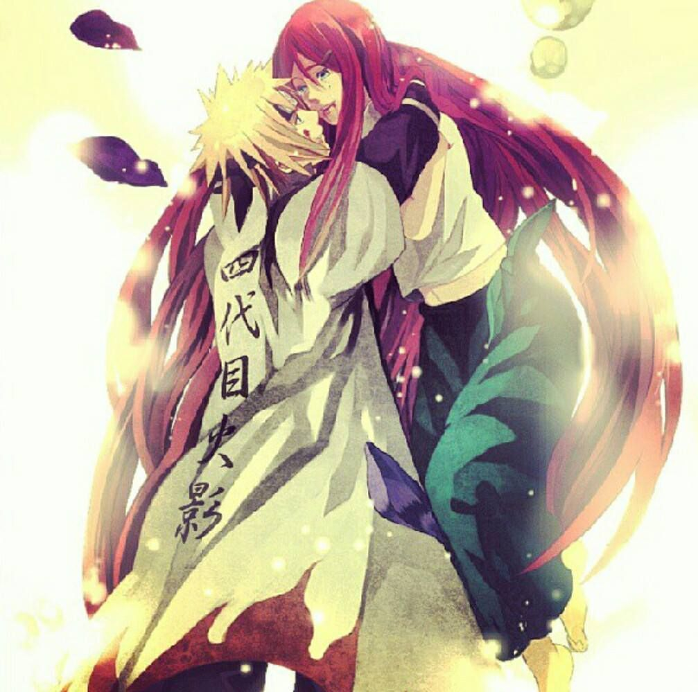 minato & kushina naruto's (dad & mom)..died on the day of his