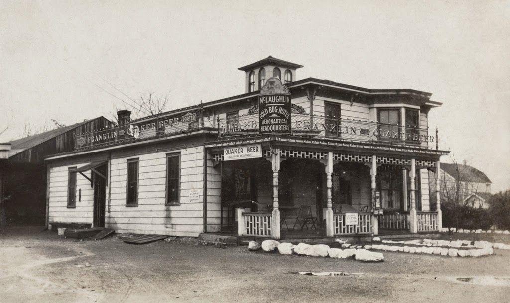 1916 1917 Mineola The Mclaughlin Gold Bug Hotel Aeronautical Headquarters