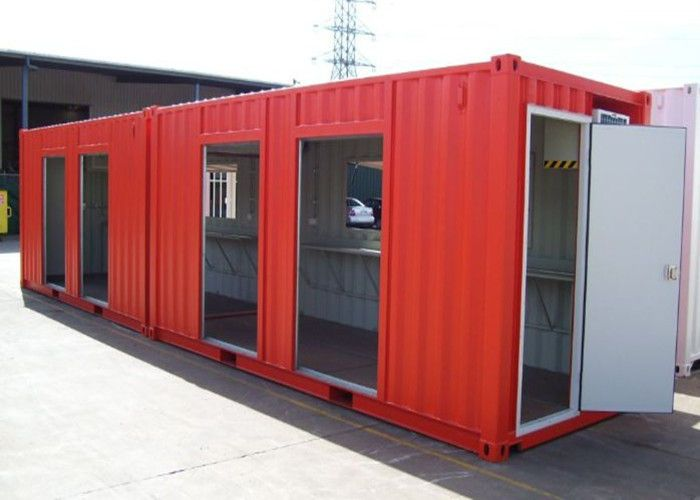 Custom Made 40ft Modified Metal Shipping Container Homes Container House Modular Homes Custom Homes