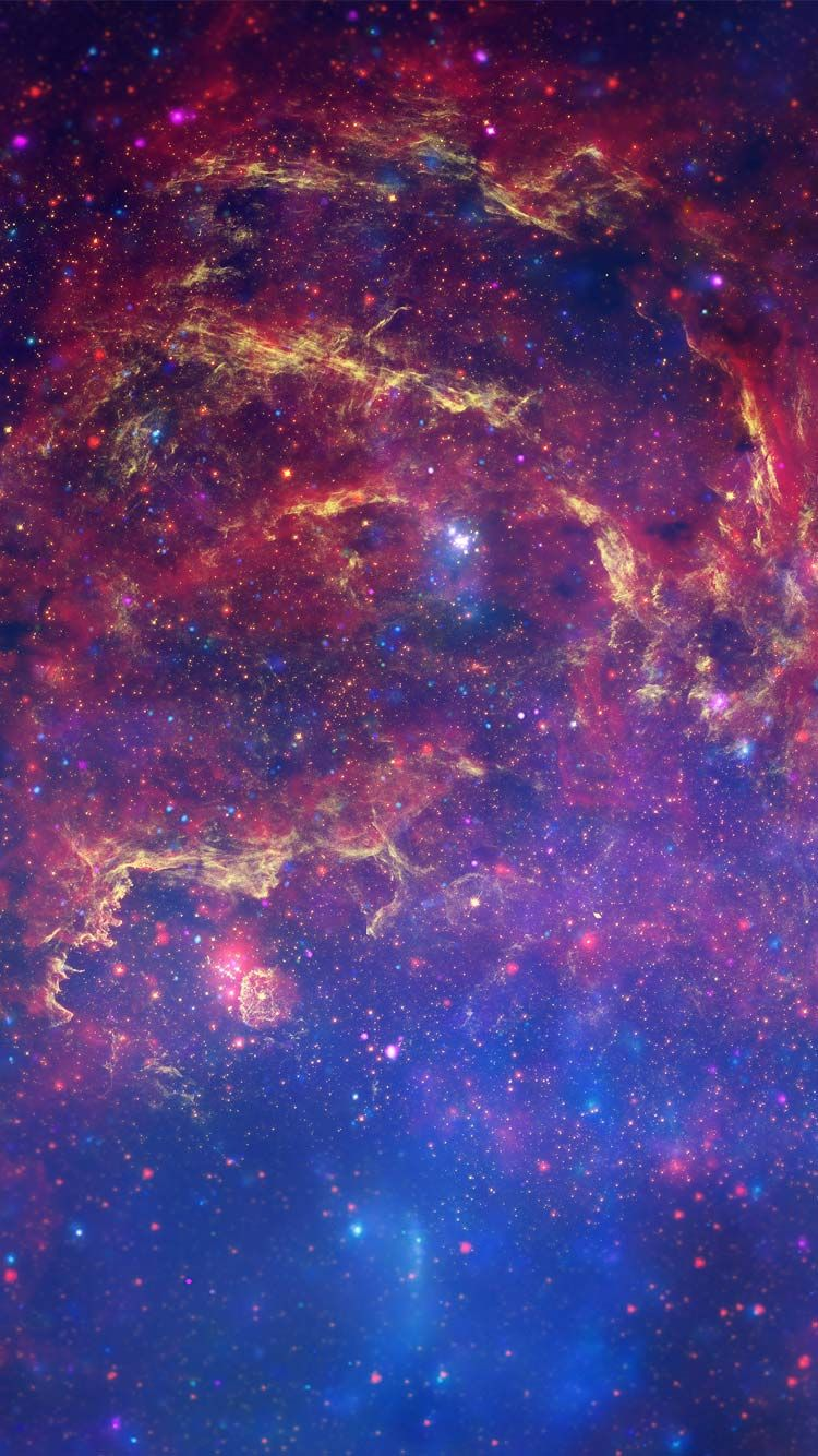 Colorful Galaxy Iphone 7 Wallpaper Astronomy Space Iphone Wallpaper Colorful Space