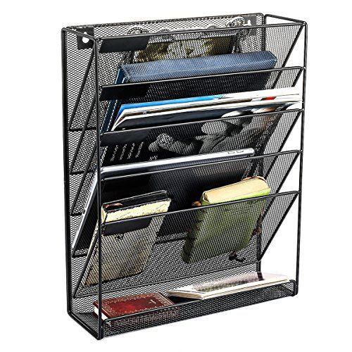 Samstar Hanging Wall File Organizer 5 Slot Mesh Metal Wa Https Www Amazon Com Dp B071xhrqdp Ref Cm Sw R Pi D Wall File Organizer Wall File File Organiser