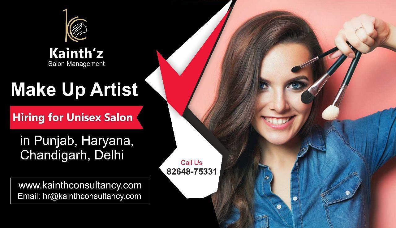 Makeup Artist jobs by Kainth Consultancy Makeup artist