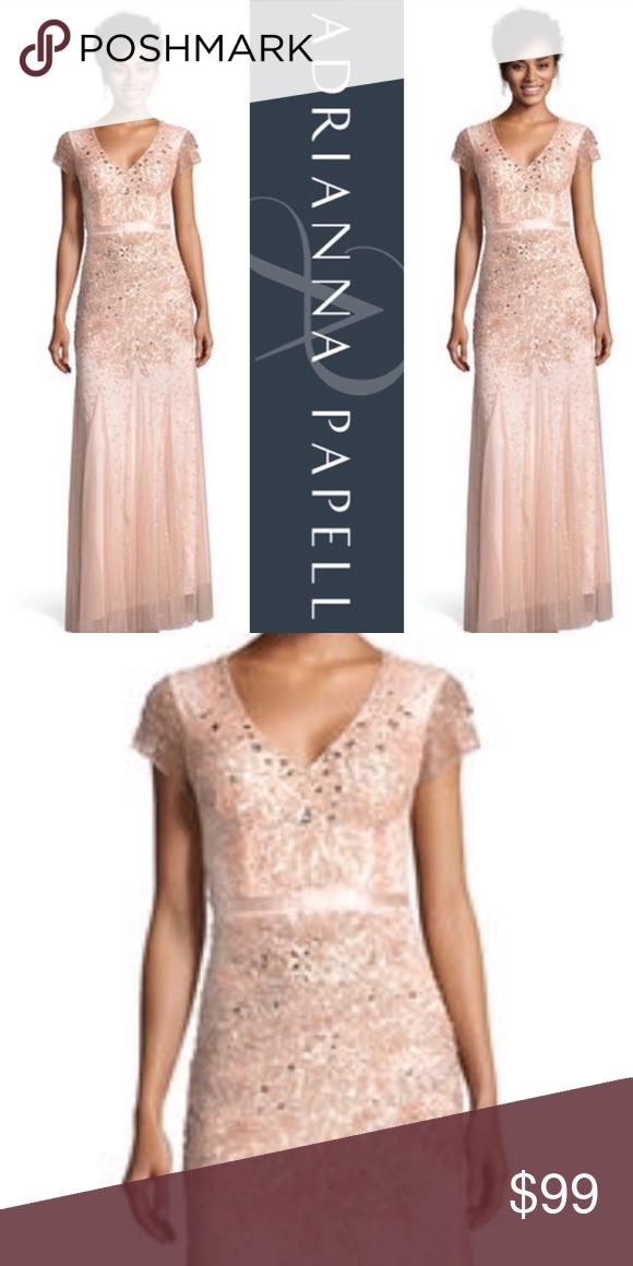 Adrianna Papell Long Waistband Dress Dresses Waistband Dress Dress Brands