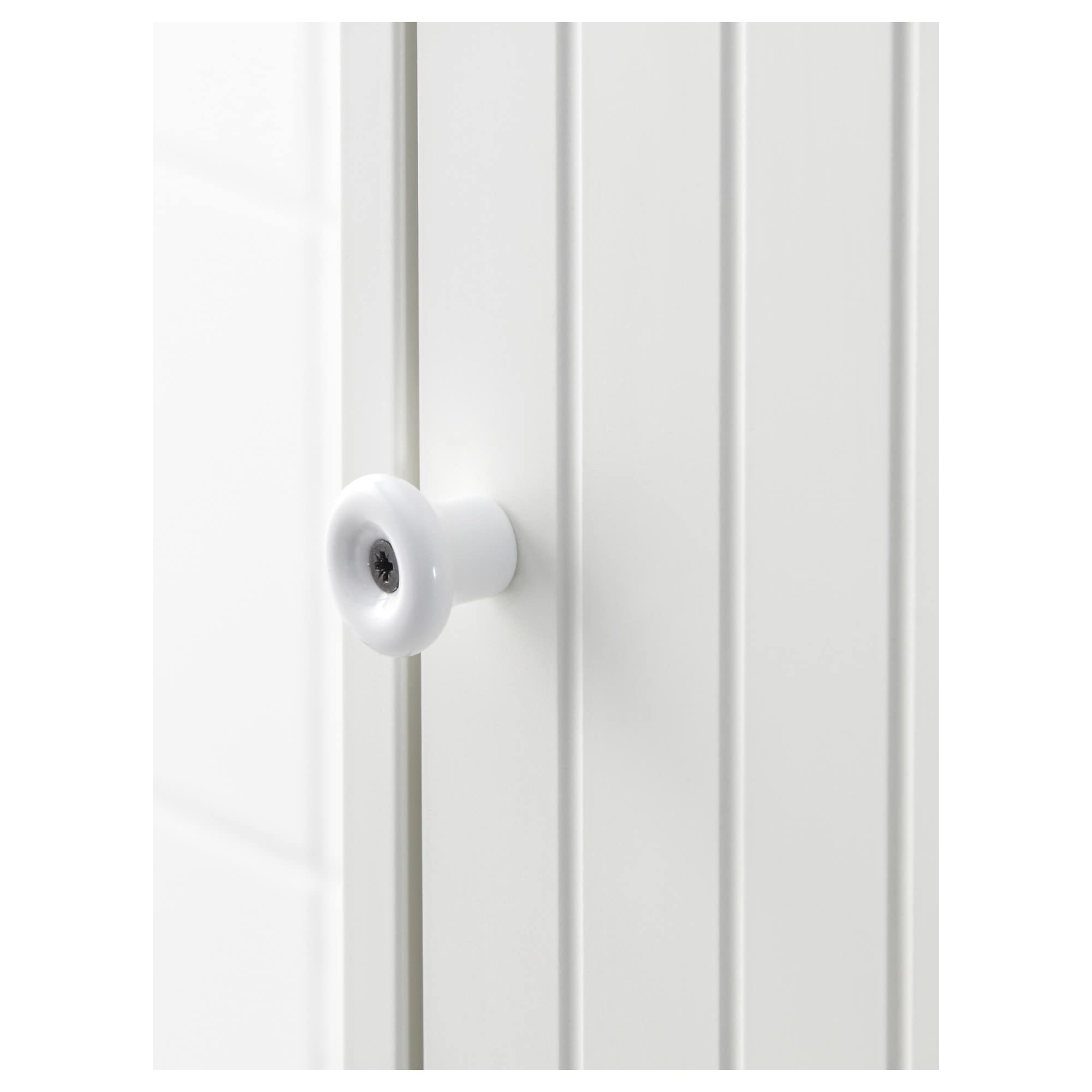 Silveran High Cabinet With 2 Doors White 15 3 4x9 7 8x67 3 4