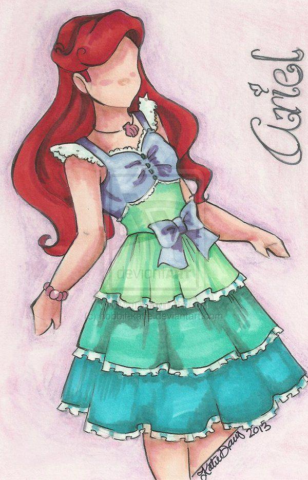 Ariel by hobbit-katie.deviantart.com on @deviantART