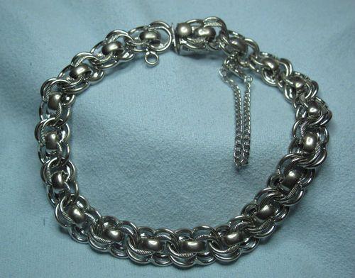 48771fb5ecc2e5 Vintage Sterling Silver BB Sterling Starter Charm Bracelet | eBay ...