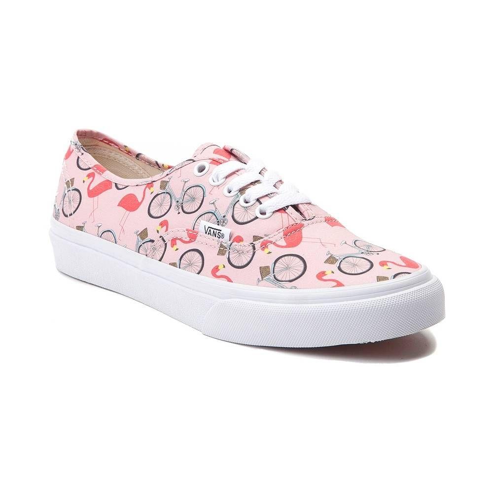 47ad420f4bf27a Vans Authentic Slim Flamingos Skate Shoe