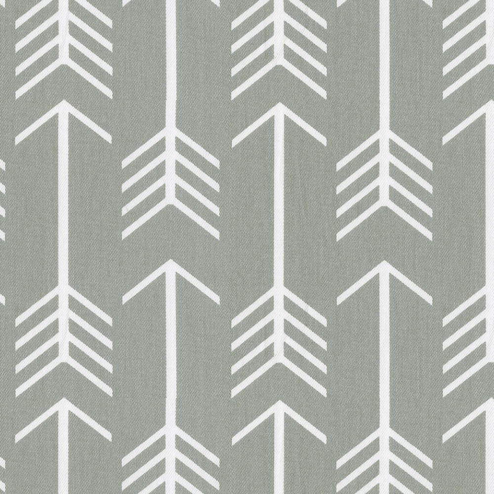 Gray Arrow Fabric by the Yard I Carousel Designs. With the feel of ...