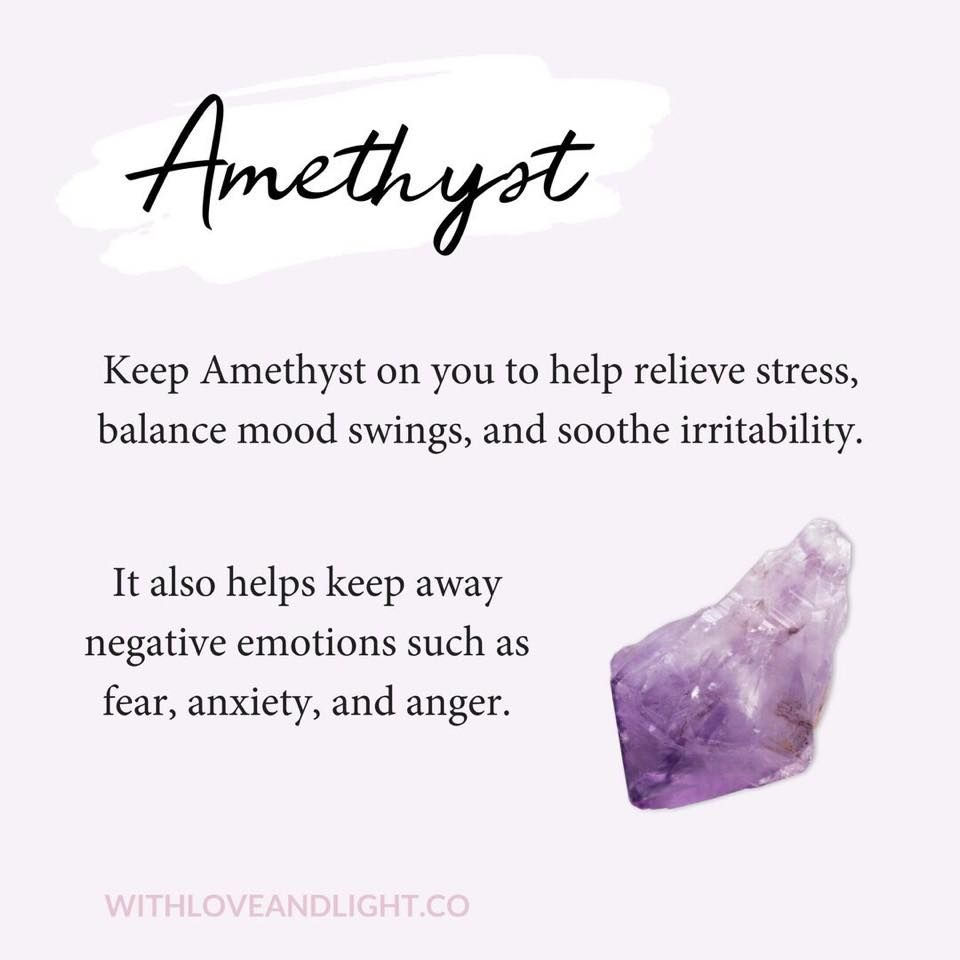 Amethyst | #crystal witch | Healing crystal jewelry