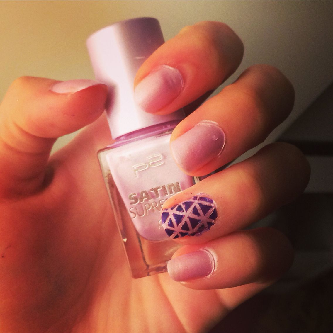 #easy #nailart #purple