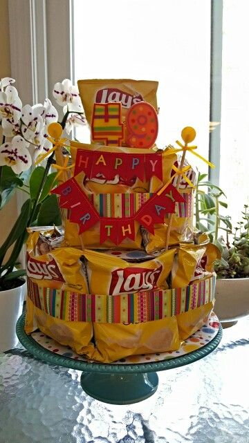 Lays Potato Chip Cake For The Non Cake Eaters Ideeen