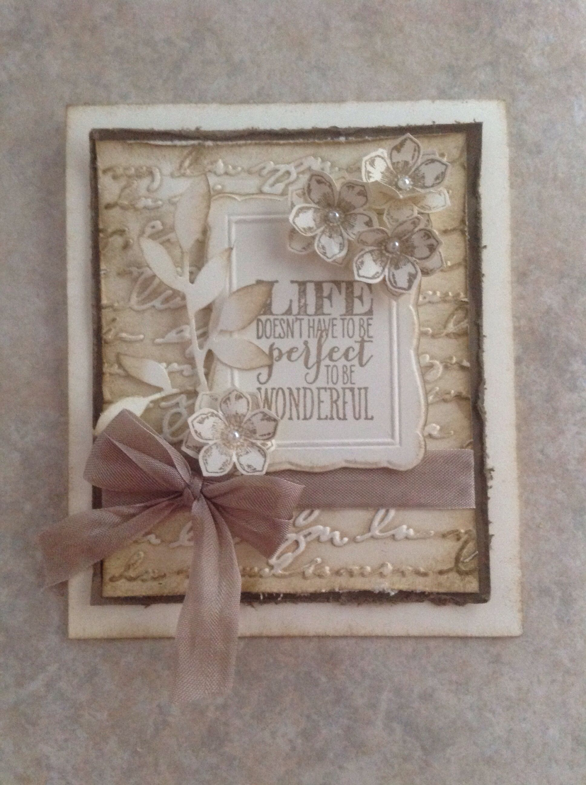Petite petals and perfect pennants from Stampin' Up Celebrate the Everyday catalog