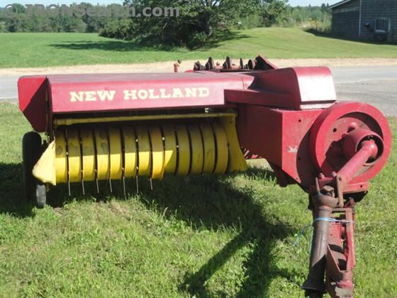1970 New Holland 269 Baler Square Tractors New Holland