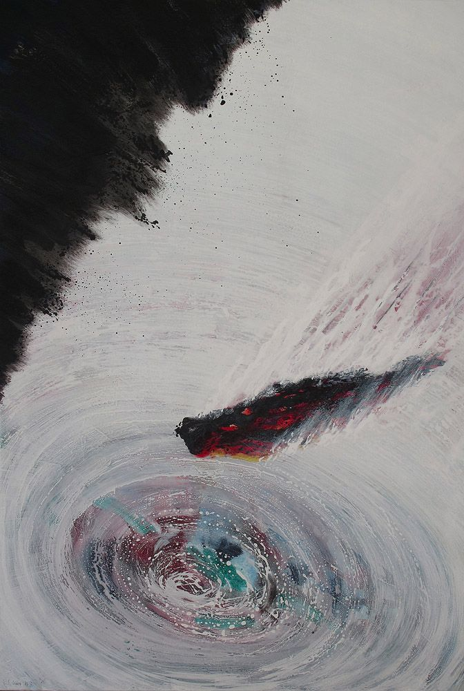 Oil on canvas  80 cm X 130 cm   2011