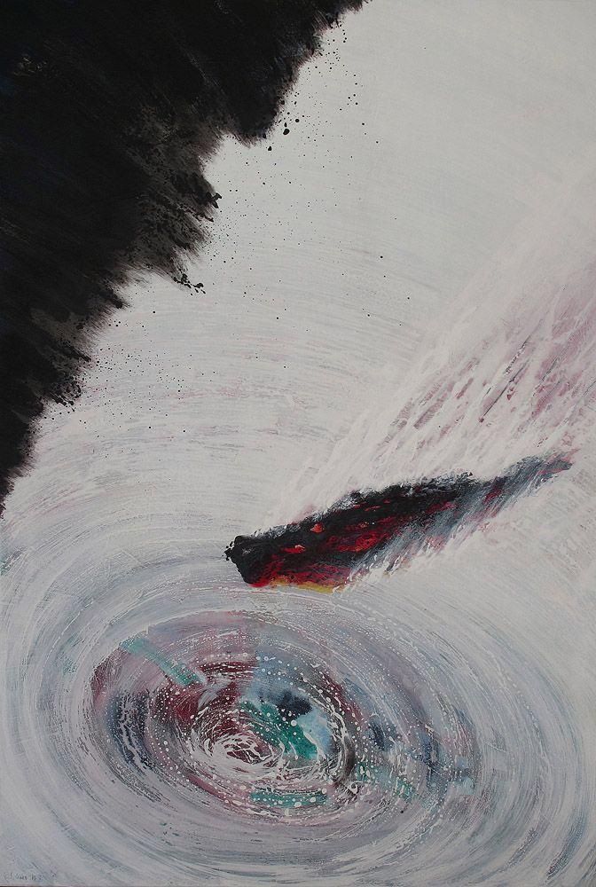 Oil on canvas  80 cm X 130 cm   2011