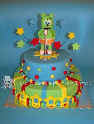 Gummy bear cake | My cakes, my hobby | Gummy bear cakes, Birthday ...