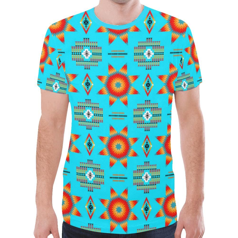 Rising Star Harvest Moon New All Over Print T-shirt for Men/Large Size (Model T45) – XXXXXL – Products