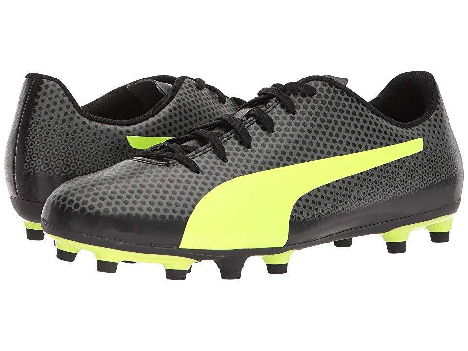 6a8bf74944723 PUMA Puma Spirit FG Men's Soccer Shoes Puma Black/Fizzy Yellow ...