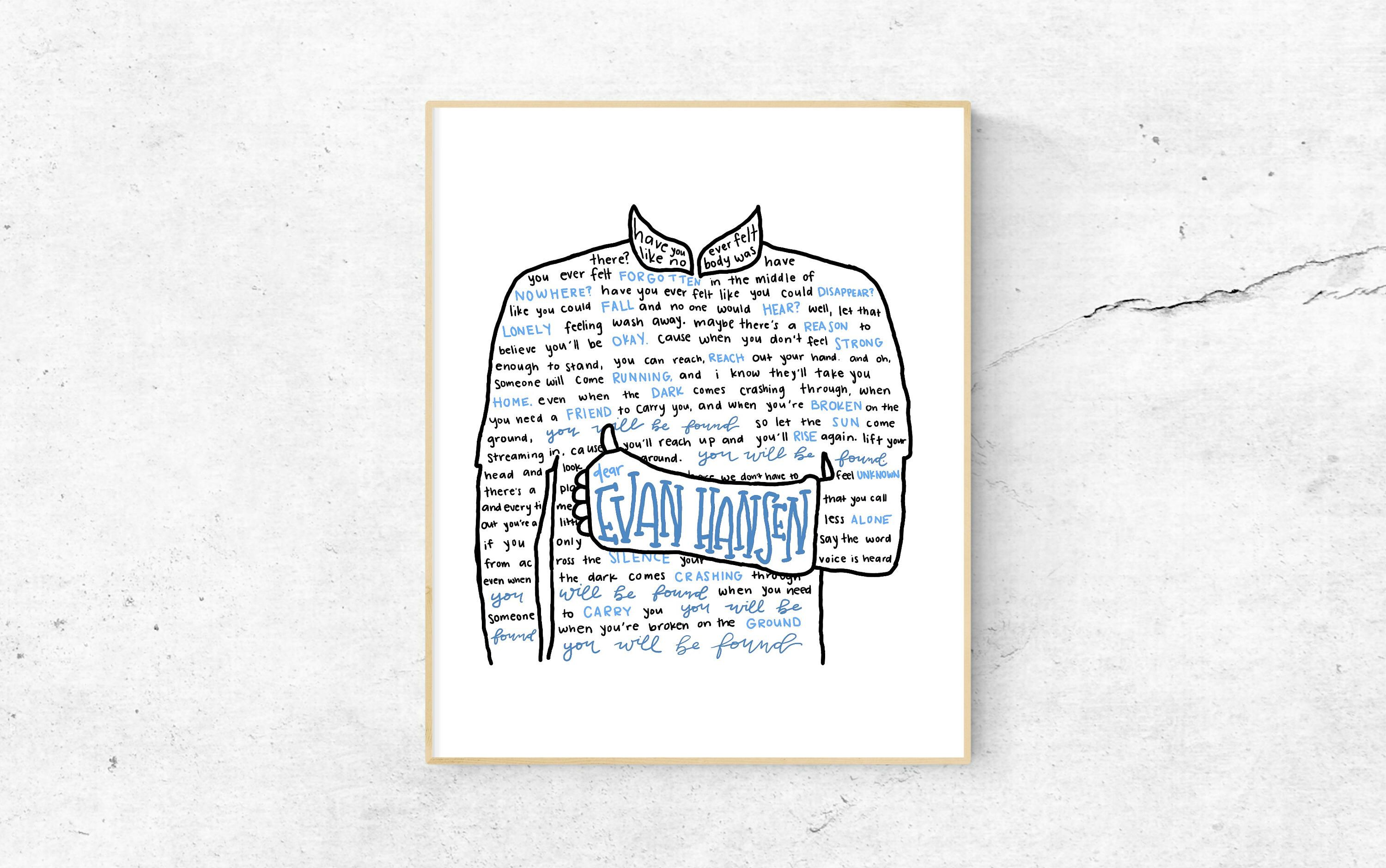 Pin By Georgia Conway On Theater Things Dear Evan Hansen Musical Dear Even Hansen Dear Evan Hansen