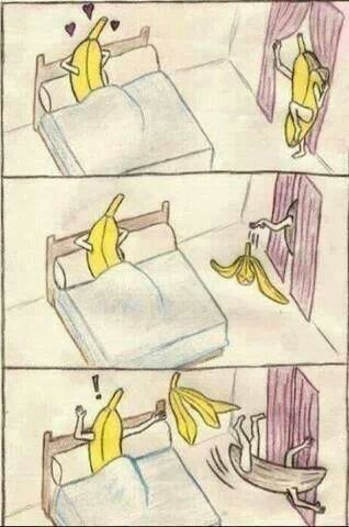 Sexy Banana strip slip.
